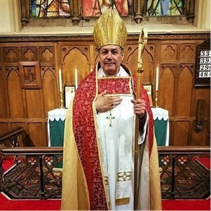 The Most Rev. Shane B. Janzen after being Installed as the new Primate of the Traditional Anglican Communion, October 16, 2016
