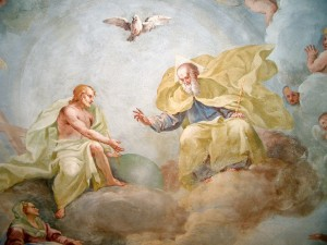 Holy Trinity, fresco by Luca Rossetti da Orta, 1738–9 (St. Gaudenzio Church at Ivrea)
